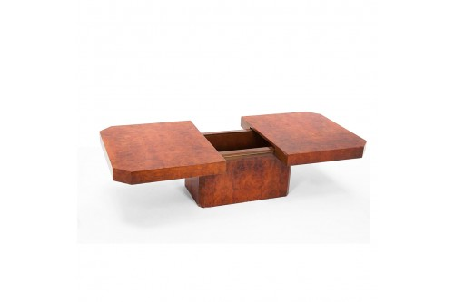 Table basse rectangulaire par Mario Sabot