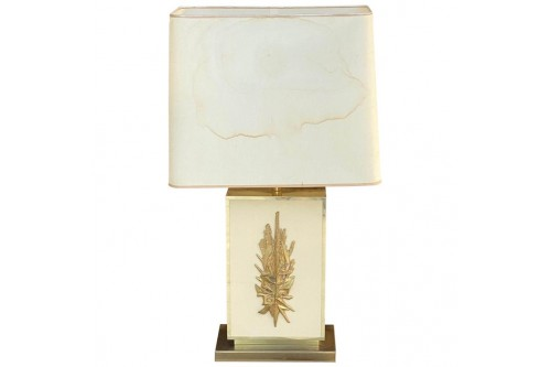 Lampe de Table de Philippe Cheverny, Vintage 1970