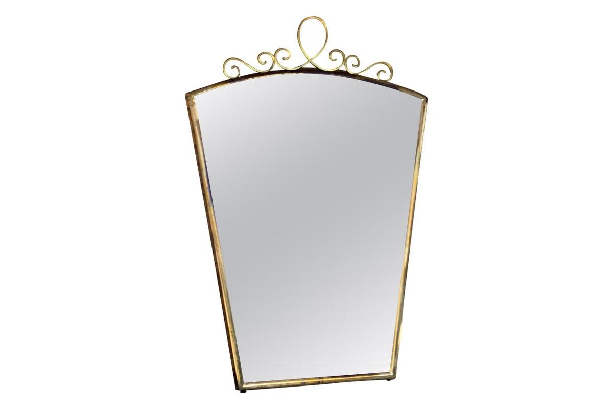 Miroir Vintage en laiton