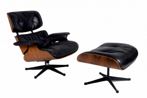 Lounge Chair par Charles et Ray Eames (1956)