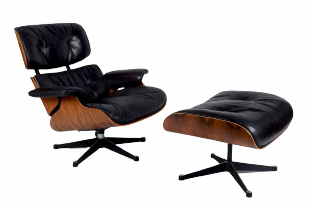 Eames lounge chair et son ottoman