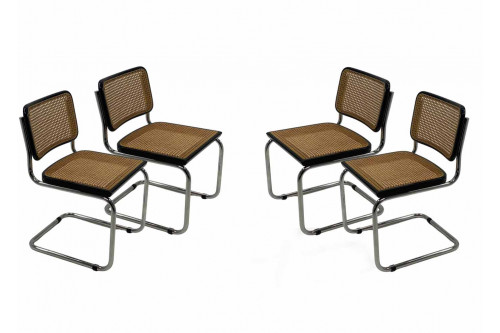 """4 chaises Cesca b32 """"made in italy"""""""