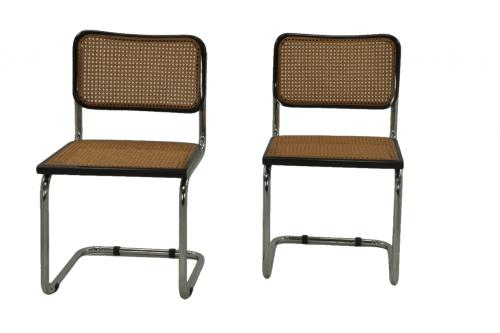 Chaises Cannées de Marcel Breuer