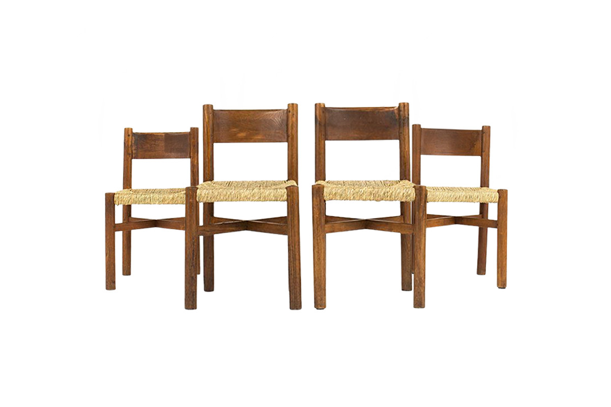 Chaises Charlotte Perriand