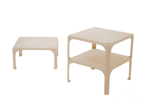 Table Demetrio 45 par Vico Magistretti