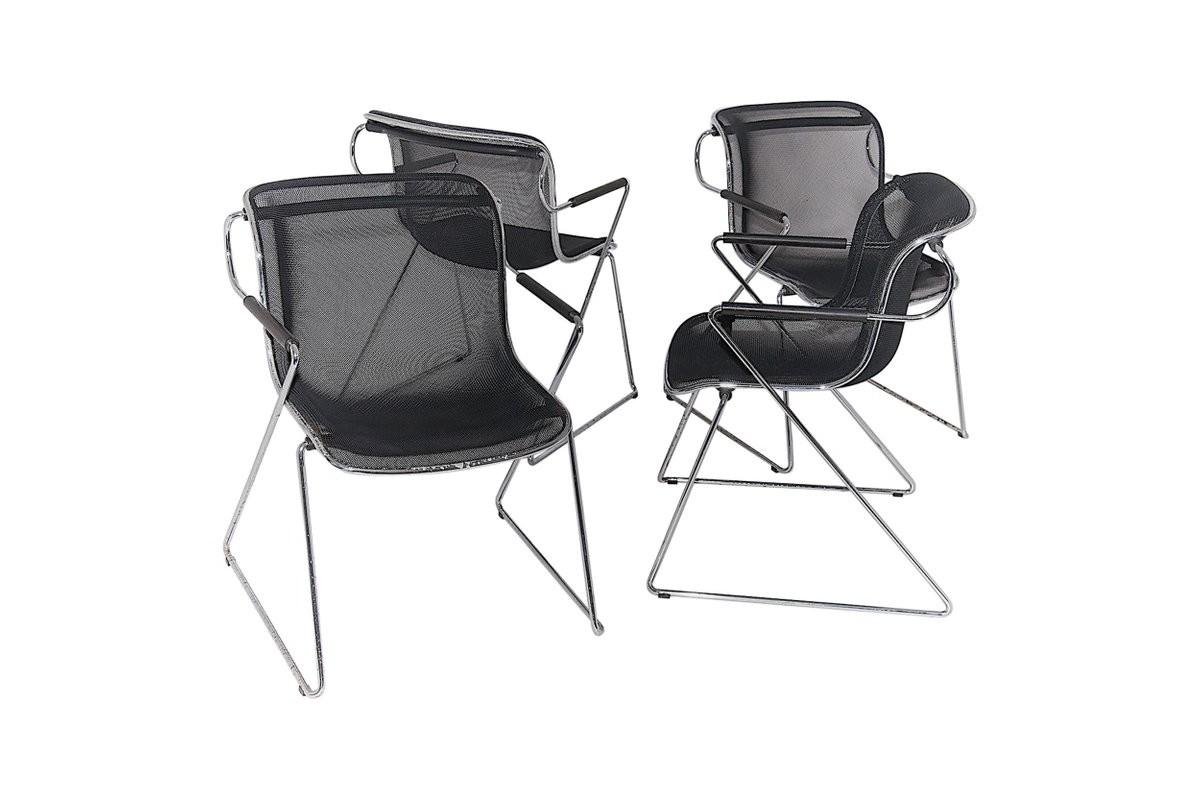 Ensemble de 4 chaises penelope