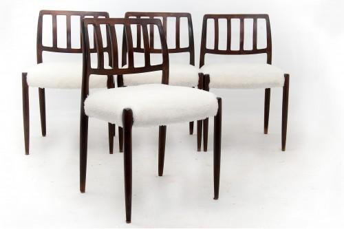 Chaises model 83 par Niels Otto Moller