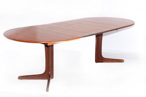 Grande Table en Teck de Niels Otto Moller, édition J.L Moller Mobel fabrik, Danmark 1960