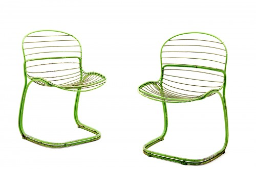 Chaises modèle Sabrina par Gastone Rinaldi