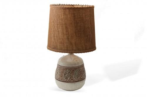 Lampe de Marcel Giraud en céramique