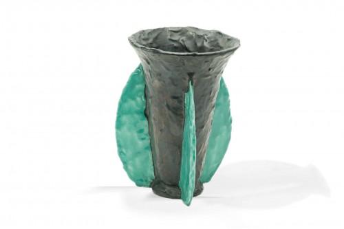 Vase en céramique, par Jerôme Massier