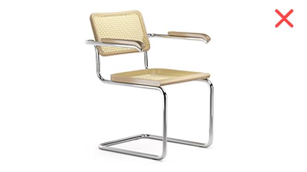 chaise B64 thonet breuer