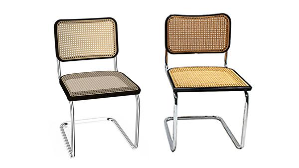 chaise b32 vintage neuve