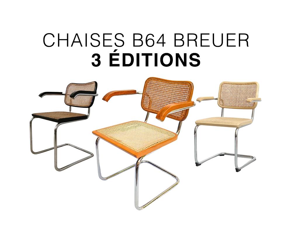 chaise cesca b32 breuer, thonet