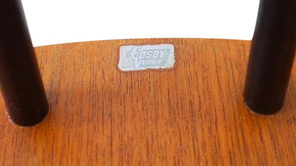 chaise fanett étiquette