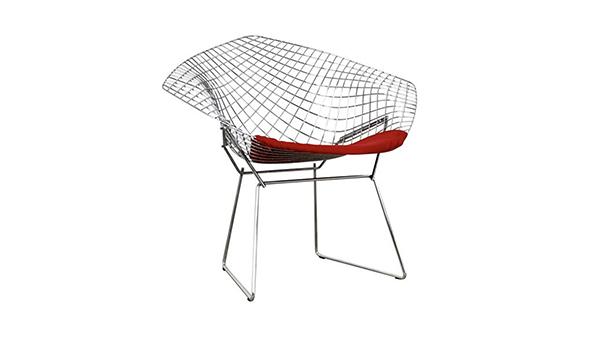 fauteuil diamant knoll, bertoia