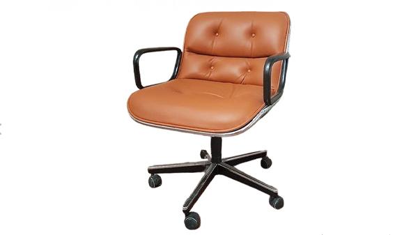 fauteuil pollock knoll marron