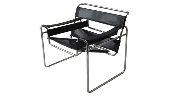 fauteuil wassily cuir noir