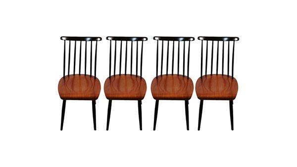 lot chaises fanett