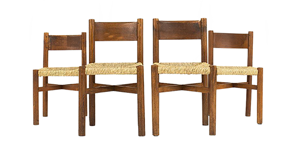 lot chaises perriand